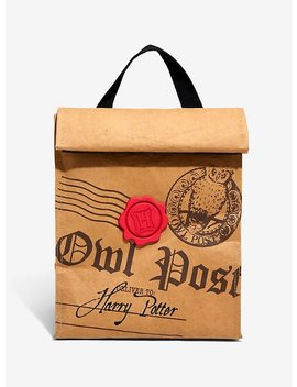 Harry Potter Owl Post Insulated Lunch Sack by Hot Topic
