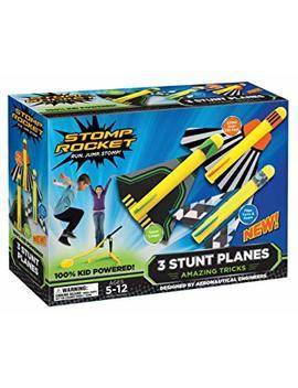 Stomp Rocket Stunt Planes, 3 Planes by Stomp Rocket
