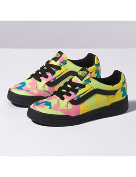 Neon Camo Highland by Vans