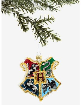 Harry Potter Hogwarts Crest Ornament by Hot Topic