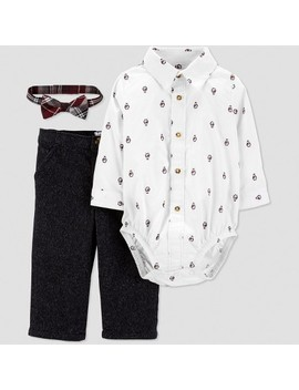 Baby Boys' Penguin Dress Set   Just One You® Made By Carter's White by Just One You Made By Carter's