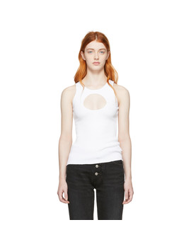 White Hole Tank Top by Vetements