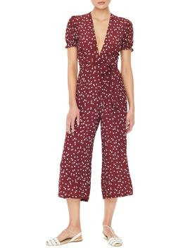 Bonnie Floral Print Crop Jumpsuit by Faithfull The Brand