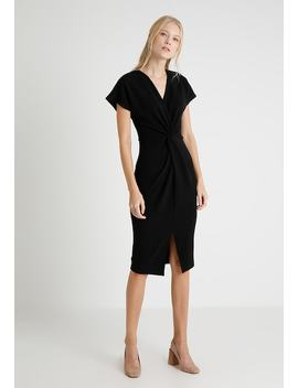 Knot Front Midi Dress   Shift Dress by Dorothy Perkins Tall