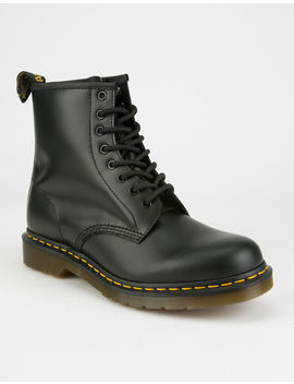 Dr. Martens 1460 Black Smooth Mens Boots by Dr Martens