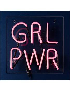Neon Girl Power Wall Décor by Indigo