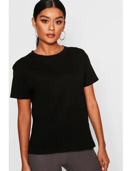 Slub Marl Oversized T Shirt by Boohoo