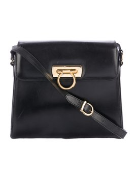 Gancio Leather Crossbody Bag by Salvatore Ferragamo