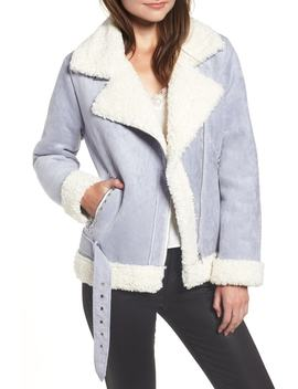 Faux Shearling Jacket by Endless Rose