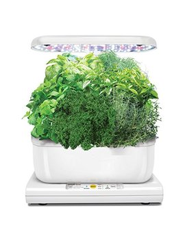 Miracle Gro Aero Garden Harvest With Gourmet Herb Seed Pod Kit, White by Aero Garden