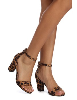 Into The Wild Block Heels by Windsor