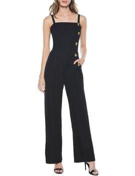 Button Jumpsuit by Bardot