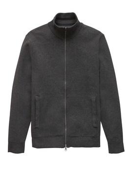 Supima® Cotton Sweater Jacket by Banana Repbulic