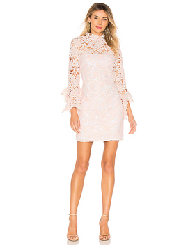 Frangapani Lace Mini Dress by The Jetset Diaries