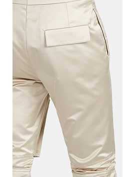 Satin Slim Cargo Trousers by Raf Simons