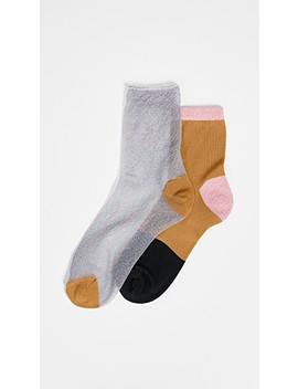 Hanna Socks Set Of 2 by Hysteria