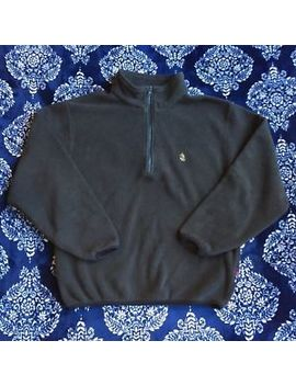 Vintage Nautica Mens Pullover Nautech Fleece Sweatshirt Size Small Usa Made by Nautica