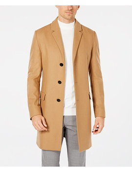 Men's Slim Fit Overcoat by Hugo Boss