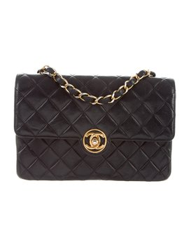 Vintage Quilted Small Flap Bag by Chanel