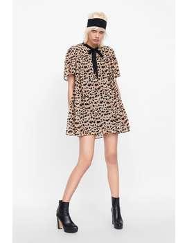 Pleated Animal Print Jumpsuit Dress  Jumpsuitswoman by Zara