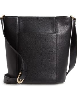 Loraine Leather Bucket Bag by Nordstrom