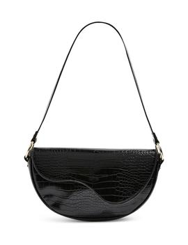 Demi Faux Leather Shoulder Bag by Topshop