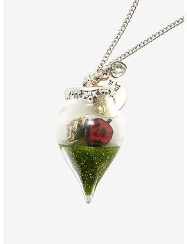 Disney Villains Evil Queen Glass Orb Charm Necklace by Hot Topic