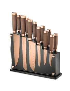 Hampton Forge  Forte 13 Piece Titanium Knife Block Set by Hampton Forge