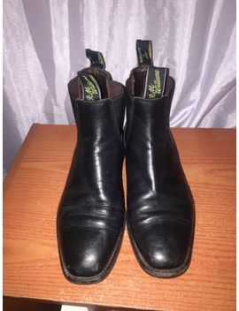 R.M Williams Craftsman Chelsea Leather Boots Size 6 H Cf by R.M. Williams