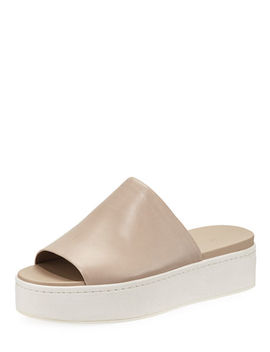 Walford Platform Slide Sandals by Vince