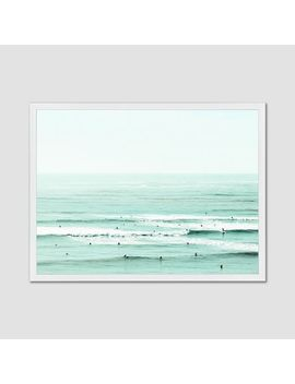 Minted For West Elm   And The Color Of My Eyes Has Gone Back Into The Sea by West Elm