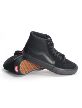 Vans Sk8 Hi Pro Blackout Vn000 Vhg 1 Oj Men's Skate Shoes by Vans