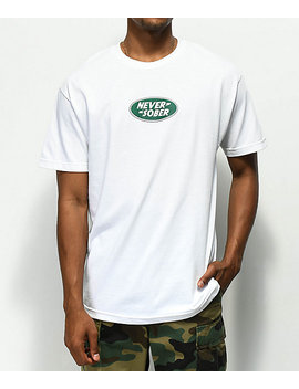 Brooklyn Projects Rover White T Shirt by Brooklyn Projects