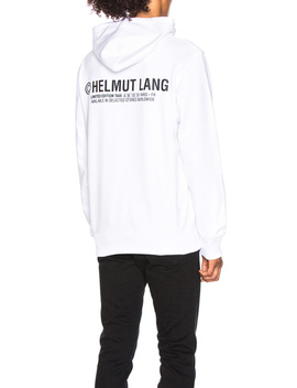 Taxi Project Paris Hoodie by Helmut Lang