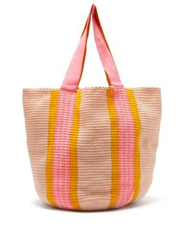 Jonas Woven Tote Bag by Sophie Anderson