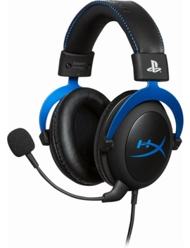 Cloud Play Station Official Licensed For Ps4 Wired Stereo Gaming Headset   Blue/Black by Hyper X