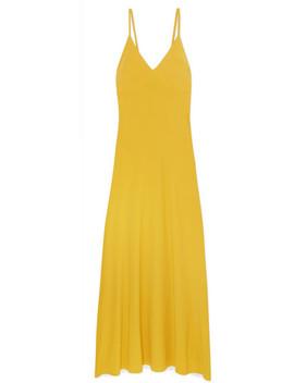 Stretch Jersey Maxi Dress by Norma Kamali