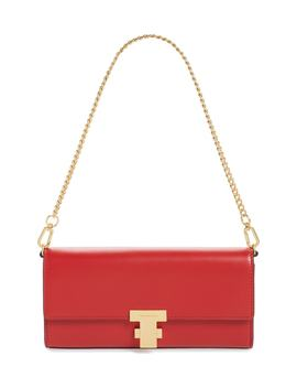 Juliette Leather Clutch by Tory Burch
