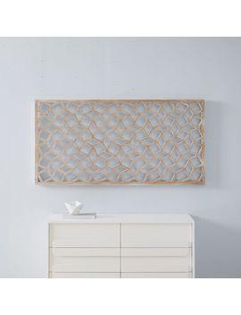 Lattice Wall Art   Rectangle by West Elm