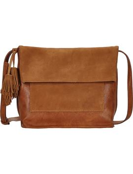 Suede Crossbody Bag by Antik Kraft