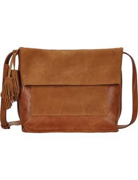 Suede Crossbody Bag by Antik Kraft