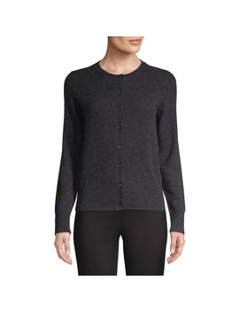Essential Cashmere Cardigan by Lord & Taylor