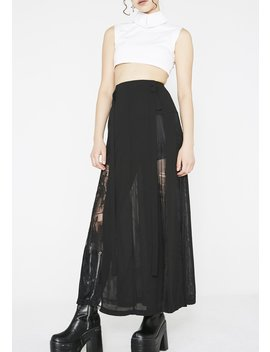 Sexy Lace Skirt by Punk Rave