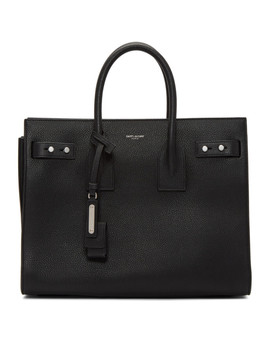 Black Small Sac De Jour Souple Tote by Saint Laurent