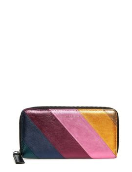 Zip Around Leather Wallet by Kurt Geiger London