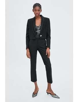Tuxedo Pants  Blazerswoman by Zara