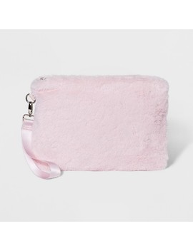 Faux Fur Clutch   Wild Fable™ Pink by Wild Fable