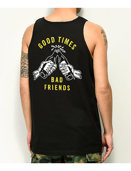 Lurking Class By Sketchy Tank Good Times Black Tank Top by Lurking Class By Sketchy Tank