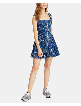 Dance On The Black Top Printed Dress by Free People