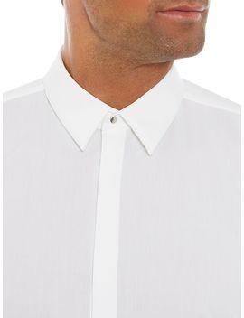 Klovis Slim Press Stud Shirt by Hugo